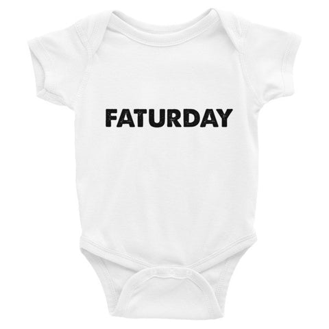 Faturday  Infant short sleeve one-piece - Case of the Fridays
