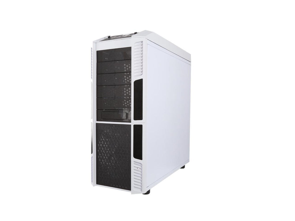 Rosewill Gaming ATX Full Tower Computer Case White Edition, Supports Up to E-ATX / XL-ATX, Comes with Four Fans - THOR V2-W