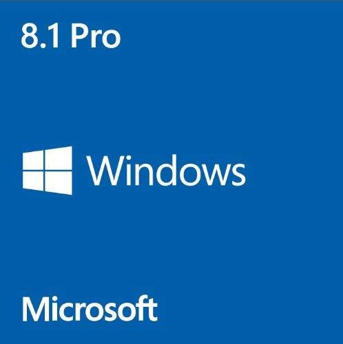 Microsoft Windows 8.1 Professional, 64Bit, OEM, DVD