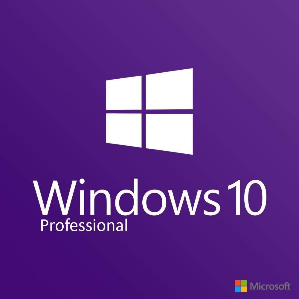 Microsoft Windows 10 Pro, 64-Bit/32-Bit, USB Flash Drive