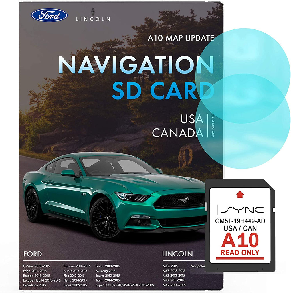 Ford Lincoln A10 Navigation SD Card | Latest Update 2019