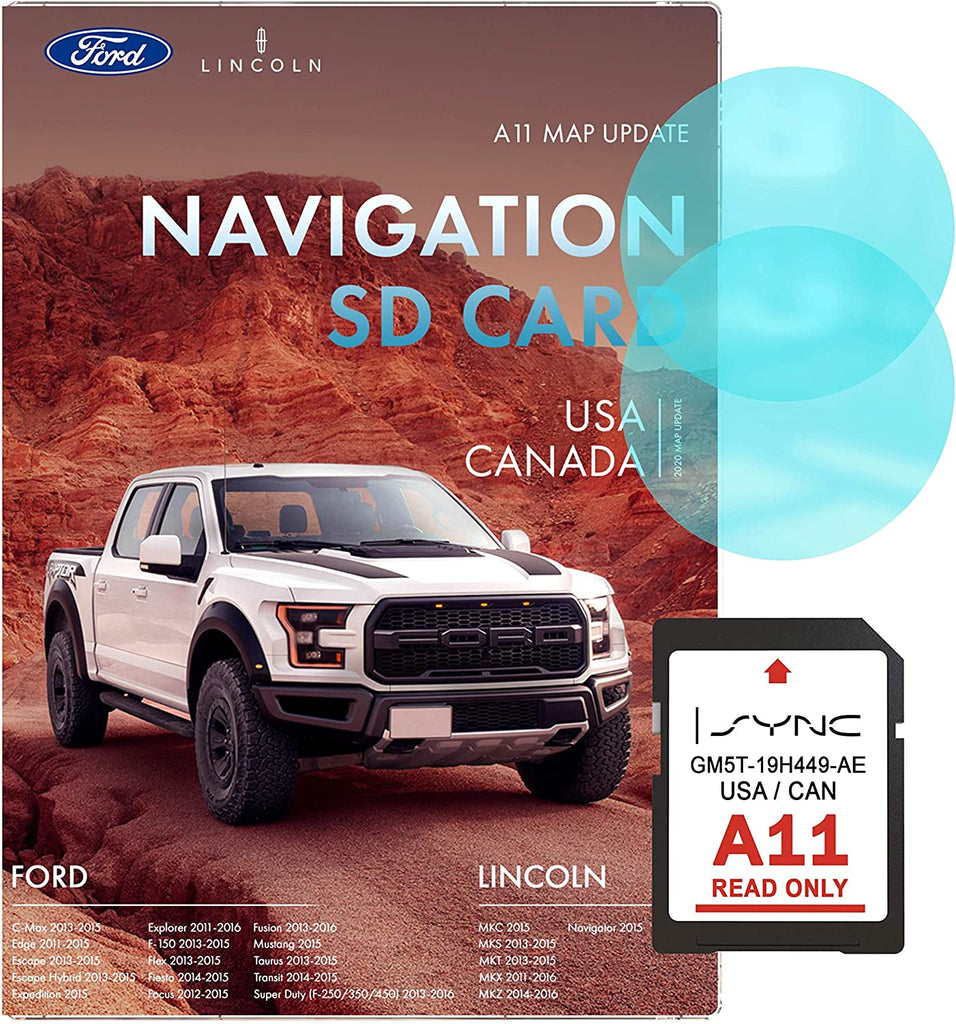 Ford A11 Navigation SD Card | Latest Update 2020