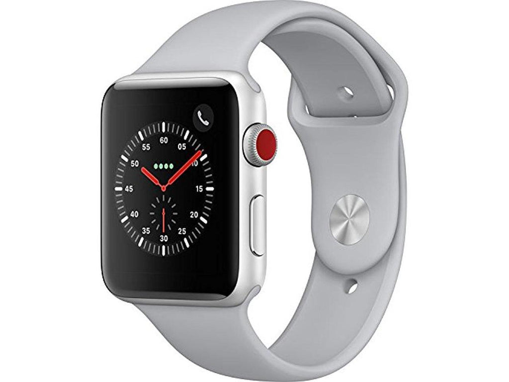 Apple Watch Series 3 (GPS + Cellular), 42mm Silver Aluminum