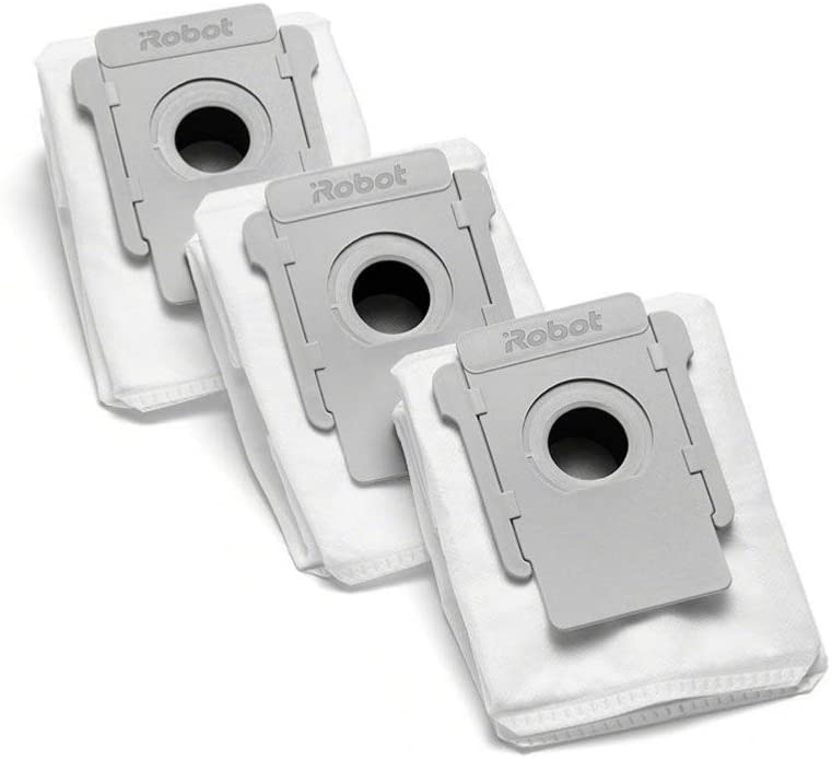 iRobot Authentic Replacement Parts- Clean Base Automatic Dirt Disposal Bags White - 4640235 (3-Pack)