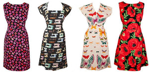 NEW! Commissions, specially requested & hard to find fabrics -  Selected short sleeve dresses