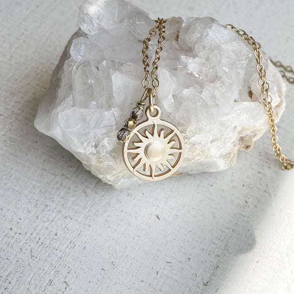 Sun Goddess Necklace