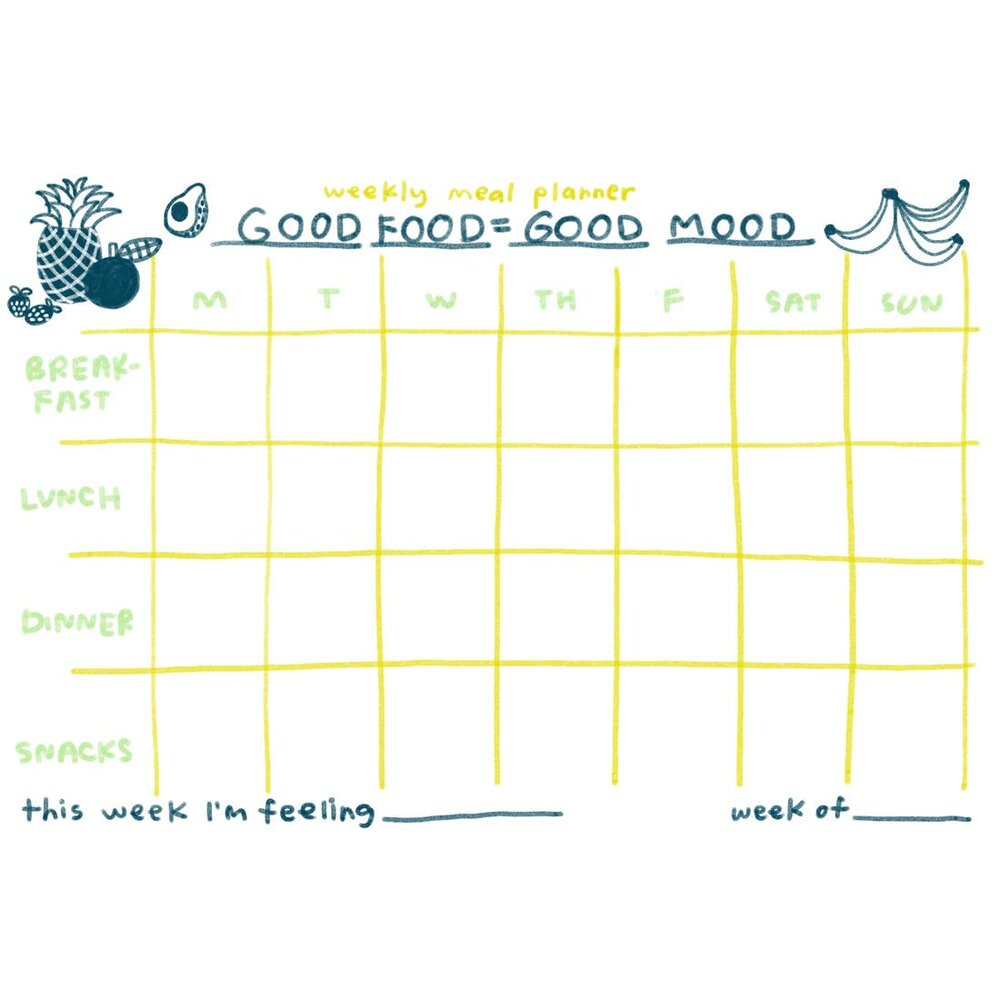 Good Food Meal Planner