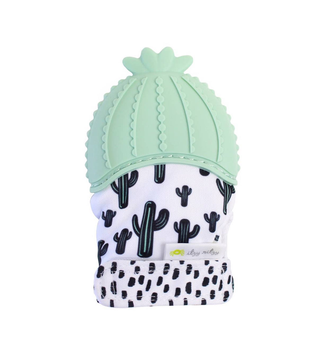 Cactus Teething Mitt