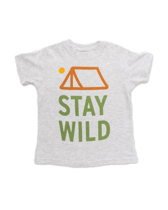 Stay Wild Toddler Tee