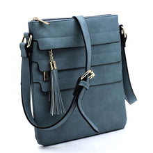 Load image into Gallery viewer, Triple Threat Crossbody, more Colors