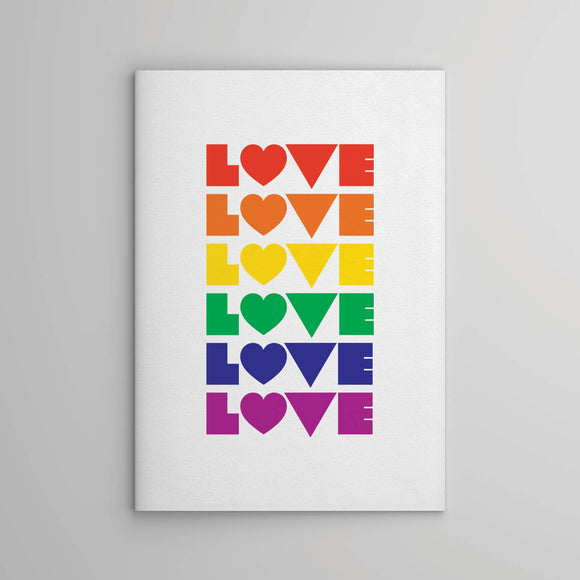 Colors of Love notebook