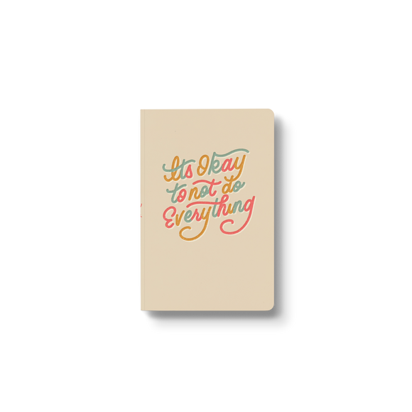 It's Ok to Not notebook Pre-order