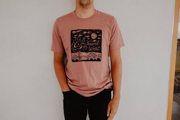 Travel West Tee