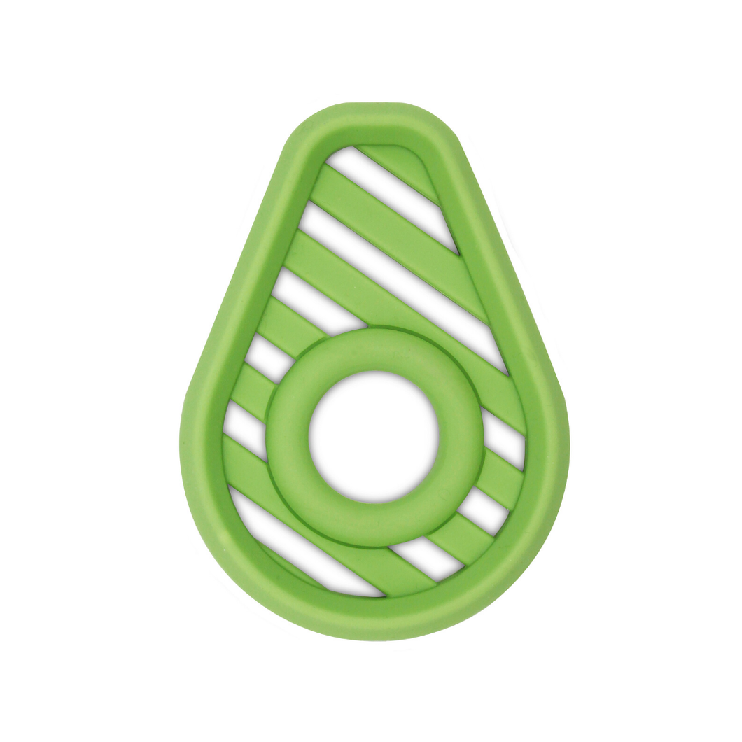 Avocado Silicone Baby Teether