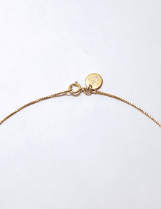 Gold Cactus Pave Necklace