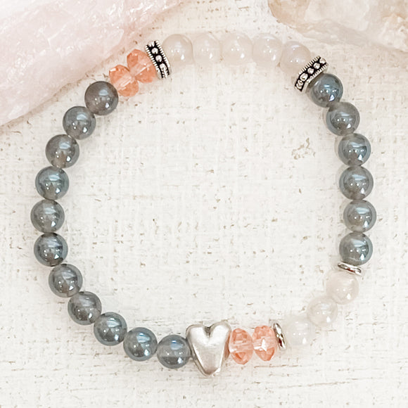 All Heart Stretch Bracelet