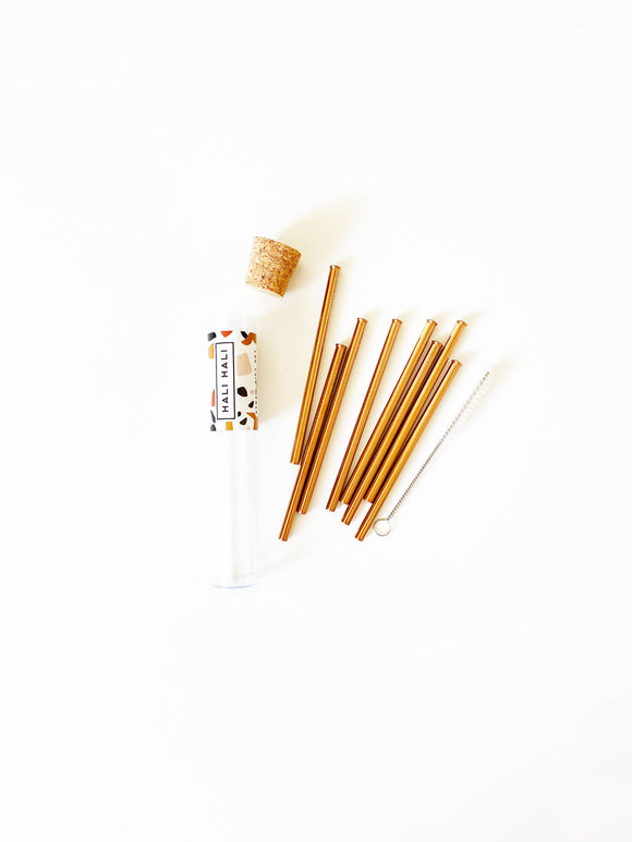 Reusable Cocktail Straws