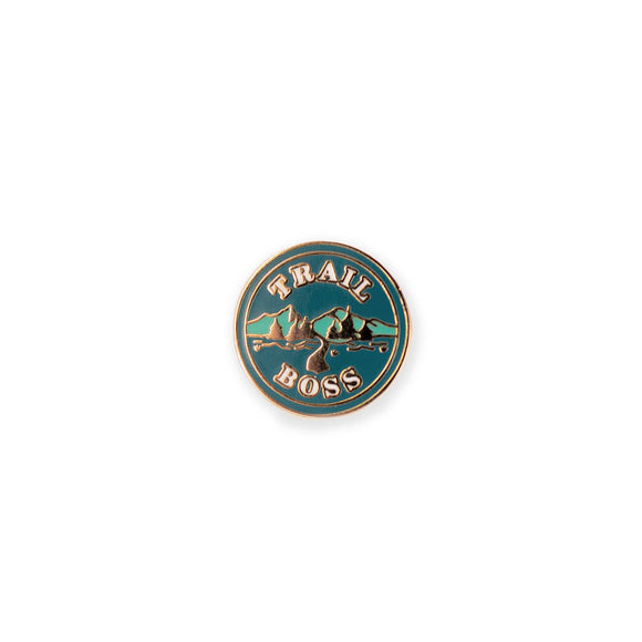 Trail Boss Enamel Pin