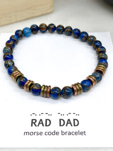 Rad Dad in Marbled Blue Opal