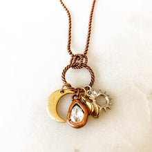 Load image into Gallery viewer, Horizon Charm Necklace