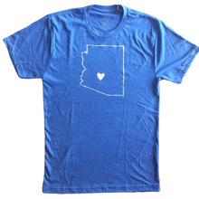 Load image into Gallery viewer, AZ Love Men's Tee, Blue