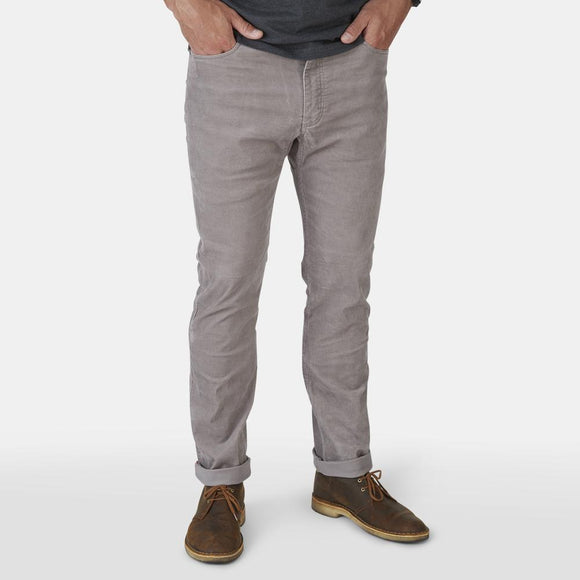 Frontside 5-Pocket Corduroy Pants in Fint Gray