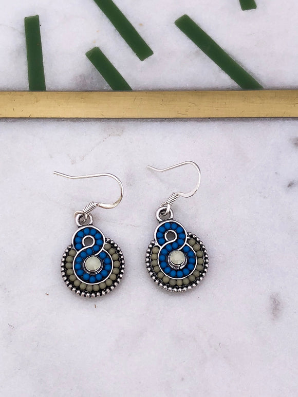 Antique Swirl Earrings