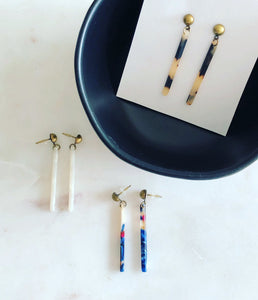 Modern Stick Earrings