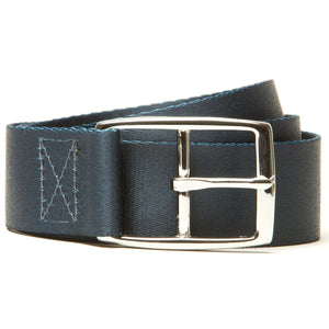 Solid Navy - Hidden Flap Belt