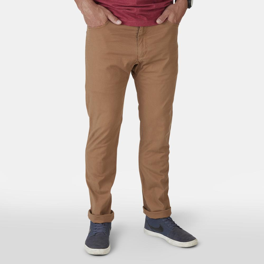 Frontside 5-Pocket Pants Raw Sienna