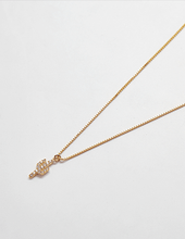 Load image into Gallery viewer, Gold Cactus Pave Necklace