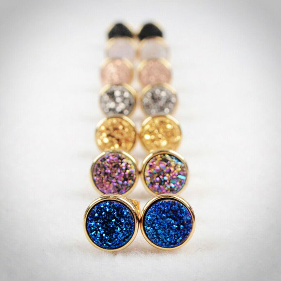Shine Bright Studs in Gold