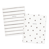Spots and Stripes Notebook Set