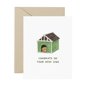 New Digs Congrats Card
