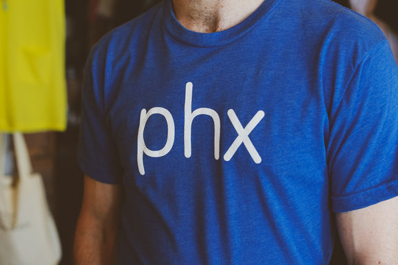 PHX Men's Tee Blue
