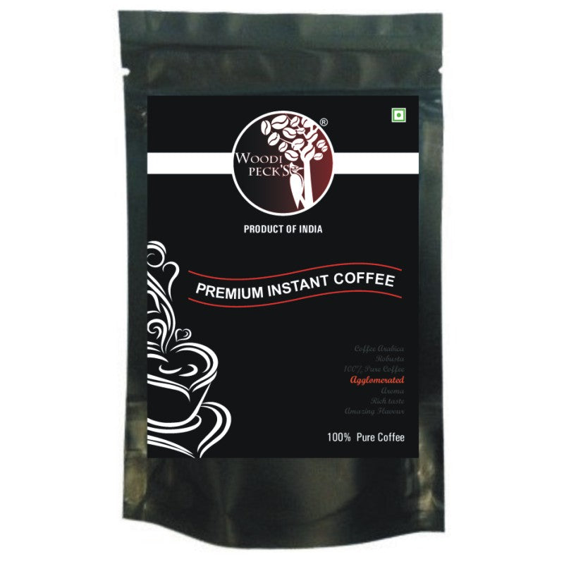 WoodiPecks Premium Instant Coffee - 50g
