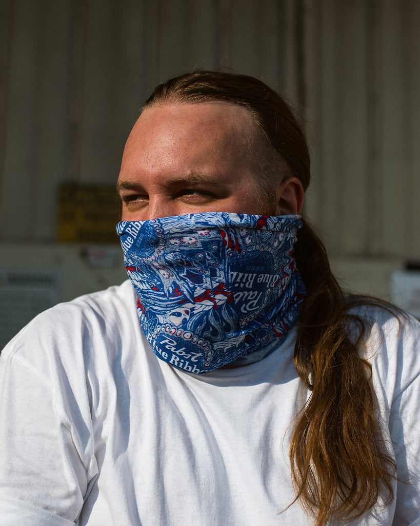 Rob Israel X Pabst Neck Gaiter