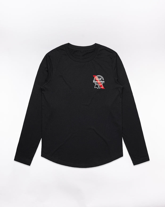 Women's Banner L/S - Pabst Blue Ribbon Store
