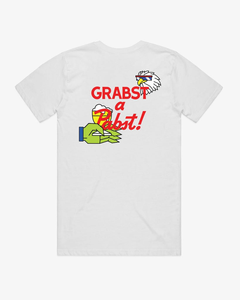 Grabst a Pabst! - Homeless Cop Eagle Tee