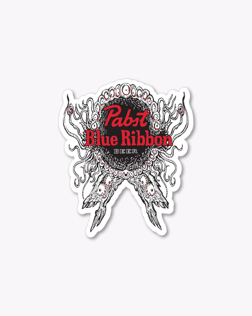 Rob Israel X Pabst Sticker