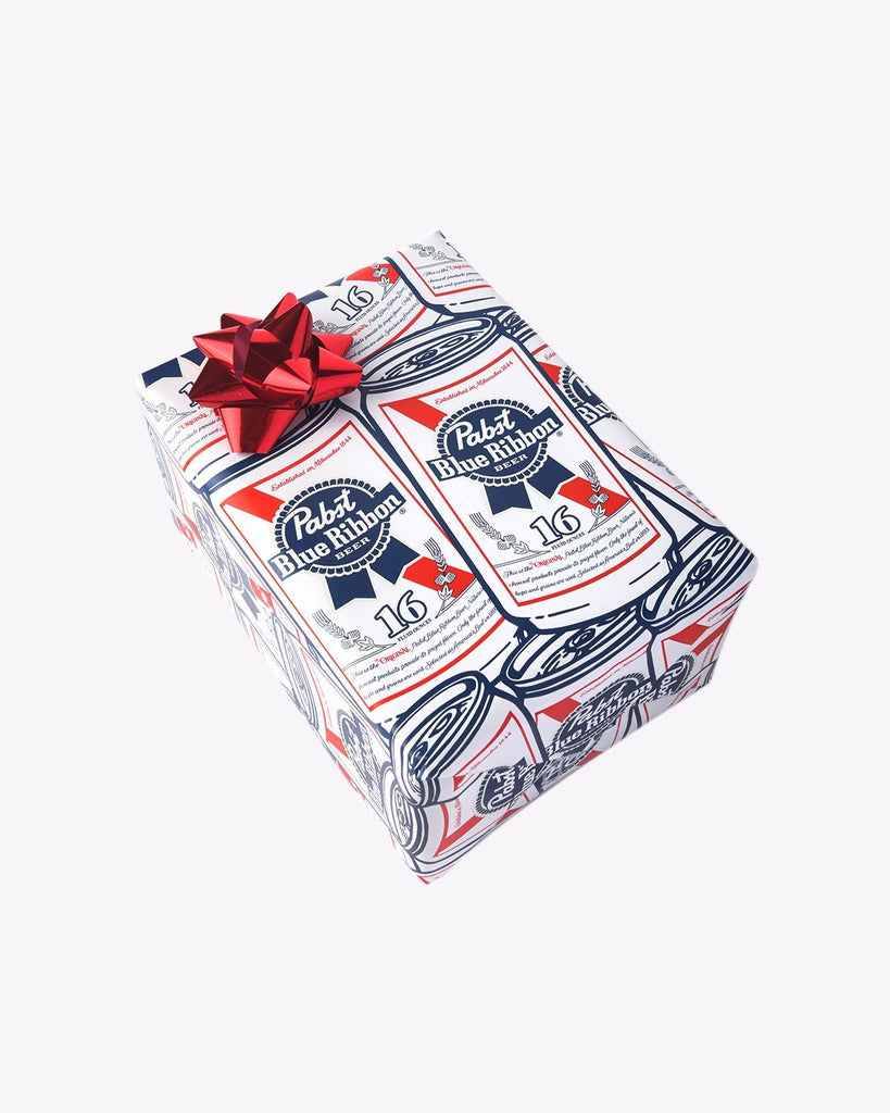 Pabst Cans Wrapping Paper