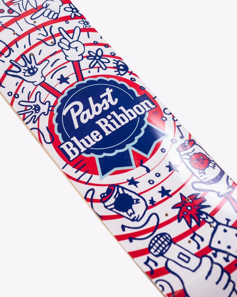 Pizza.Party.Pabst.Repeat Skateboard