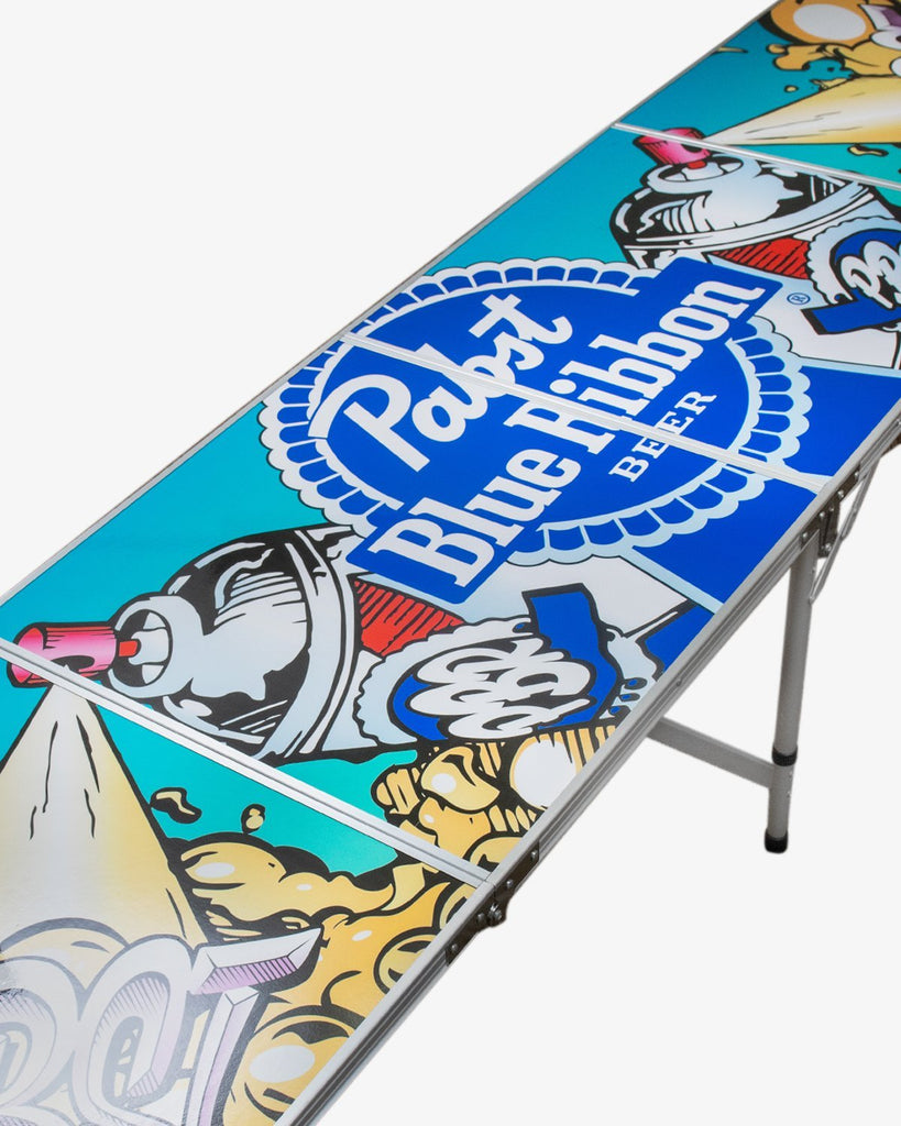 Pabst Beer Pong Table