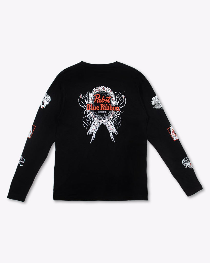 Rob Israel X Pabst UniSex Long Sleeve