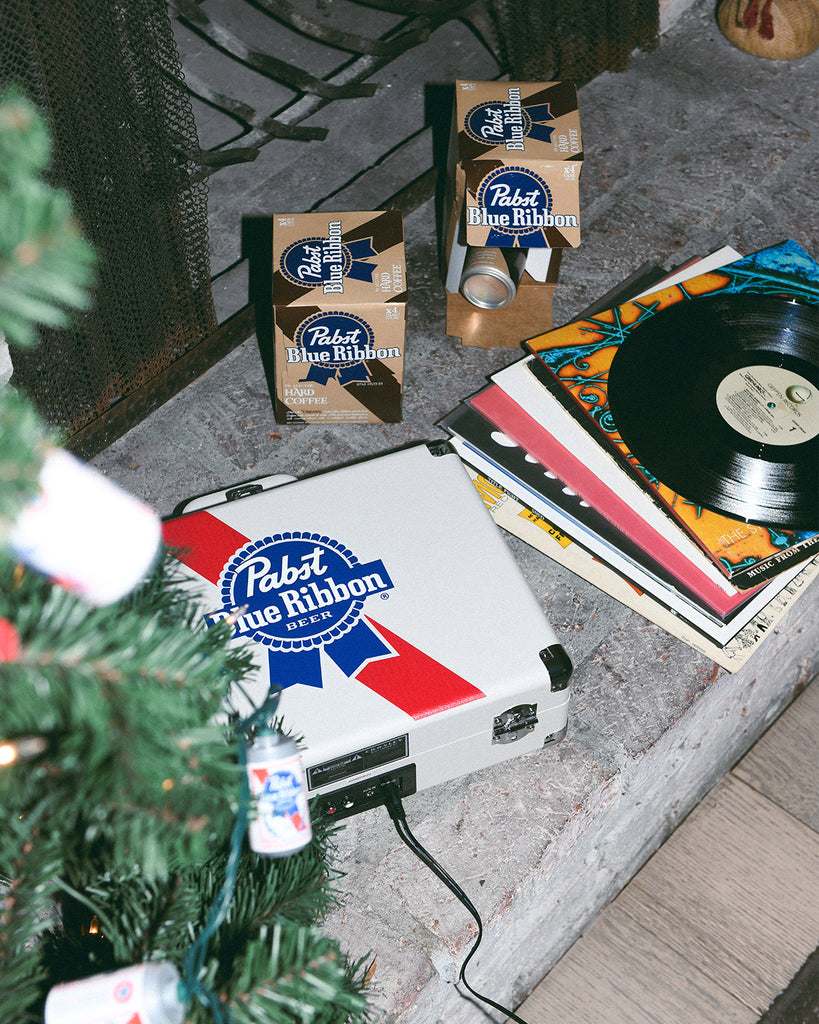 PBR Crosley Custom Record Player