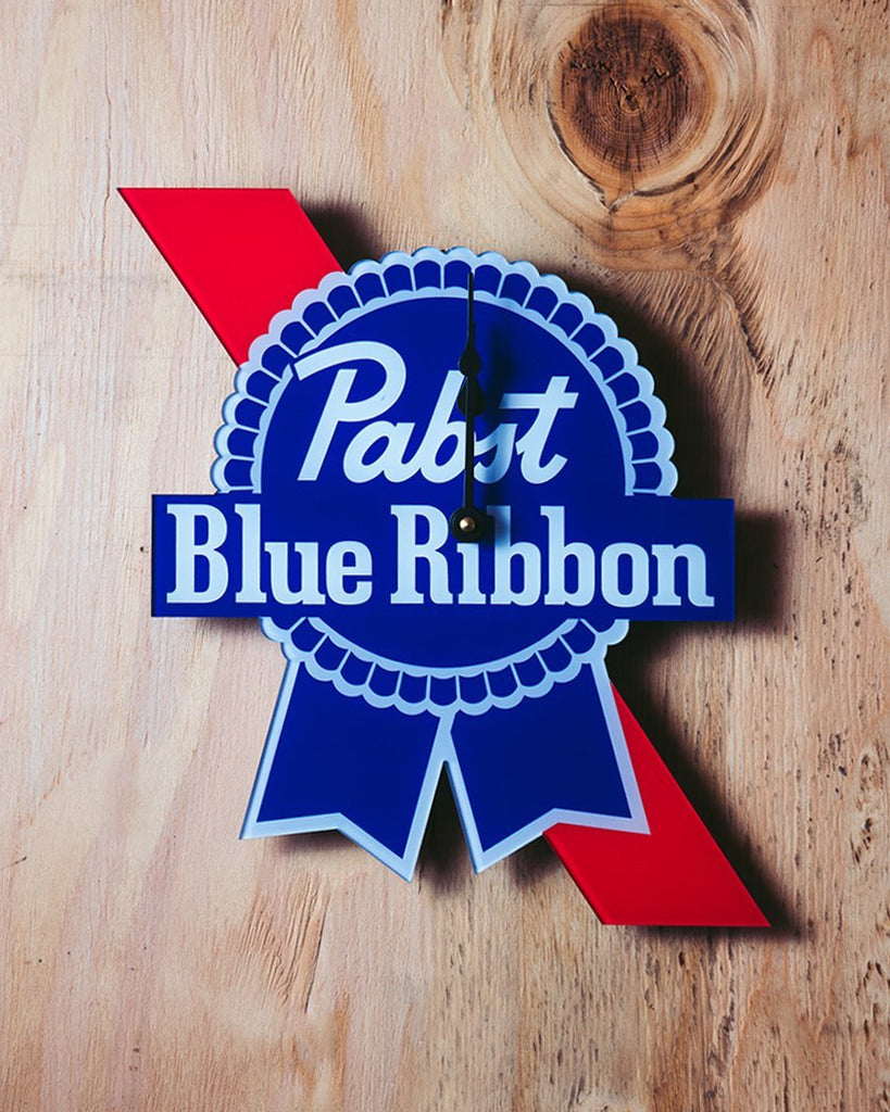 PBR Die-Cut Clock