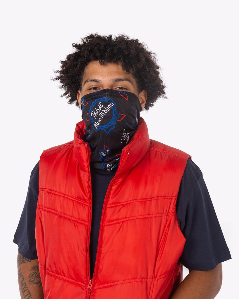 PBR Neon Sign Neck Gaiter
