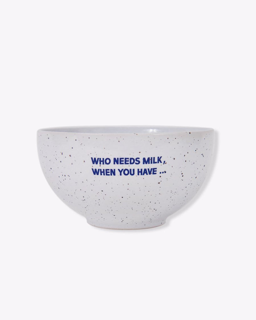 Hard Coffee Cereal Bowl