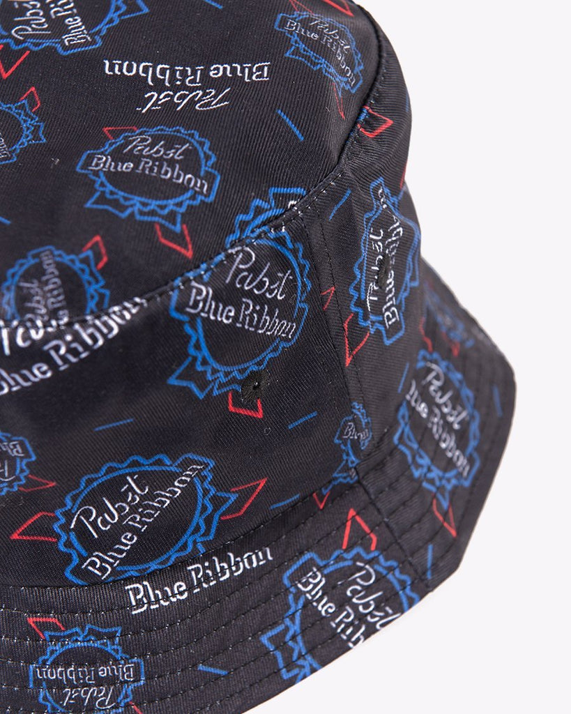 PBR Neon Sign Bucket Hat
