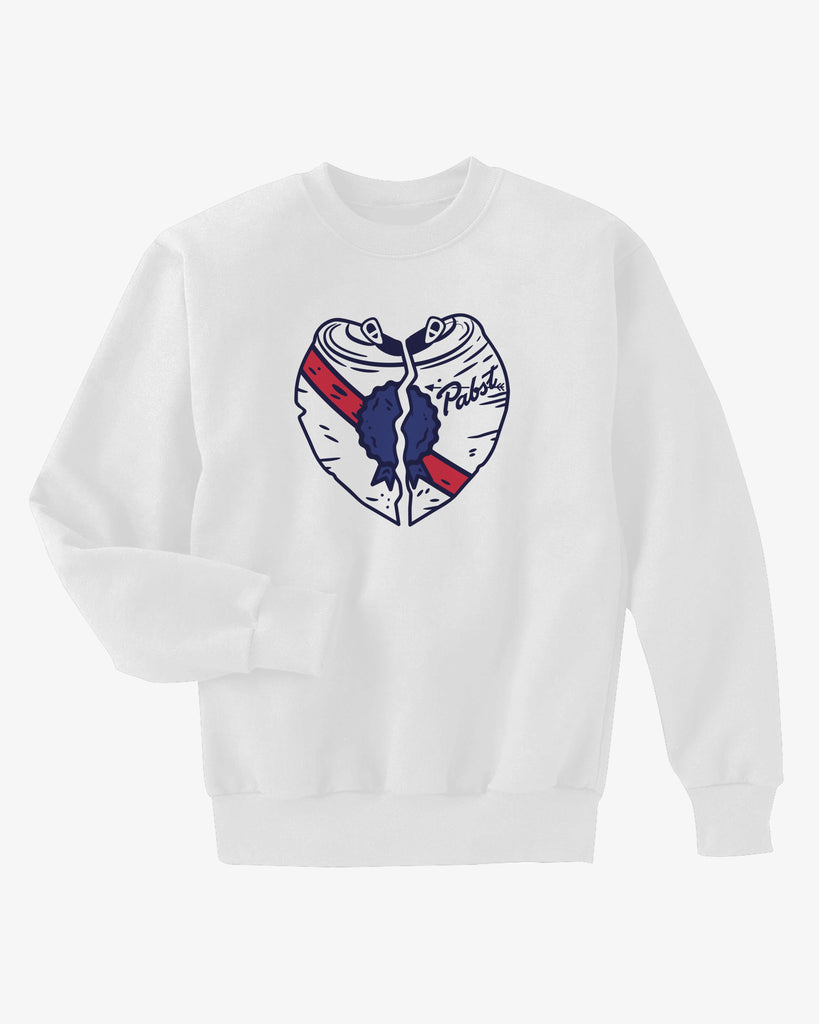 Can Heart Men's Crew Neck